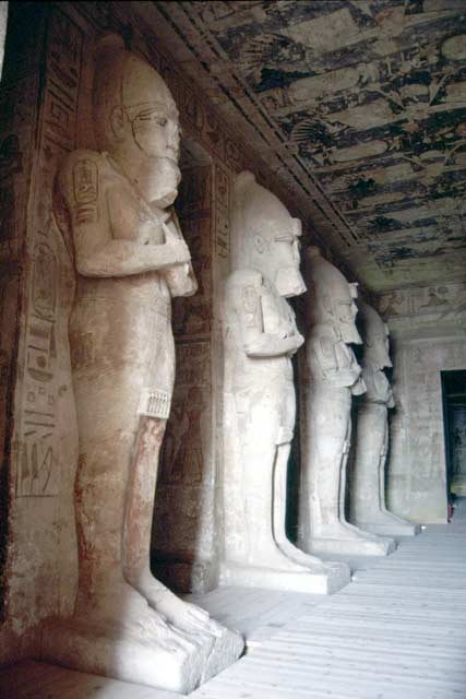 Temple of Abu Simbel. Egypt.