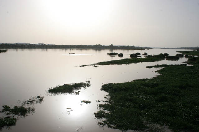 Niger river at Niamey capitol. Niger.