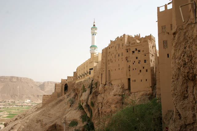 Village Al-Hajrayn (Al-Hajjarayn) at Wadi Do'an. Yemen.