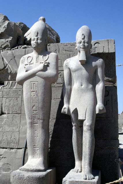 Temples of Karnak in Luxor. Egypt.