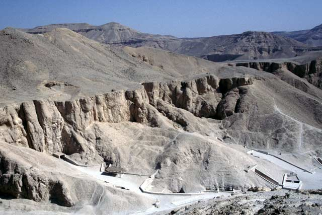 Valley of the Kings. Egypt.