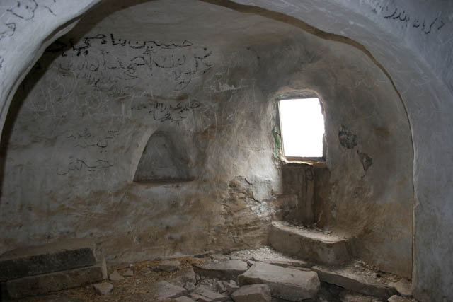 Fortress Husn Thilla and room of imam who lived here. Yemen.