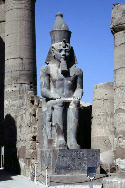 Luxor temple. Egypt.