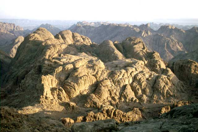 Sinai mountains. Egypt.