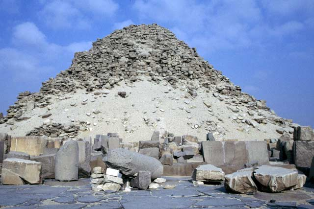Pyramids in Abu Sir. Egypt.