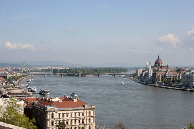 Buda Hill lookout, Budapest. Hungary.
