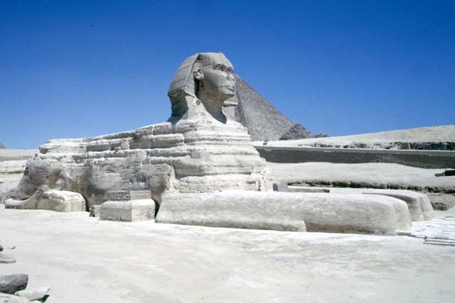 The Sphinx. Egypt.