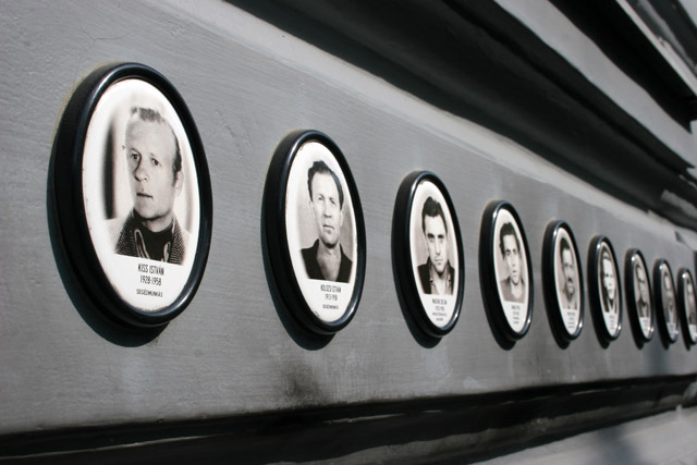 House of Terror, muyeum of Nazi and Communist repression, Budapest. Hungary.
