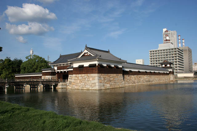 Hiroshima castle. Japan.