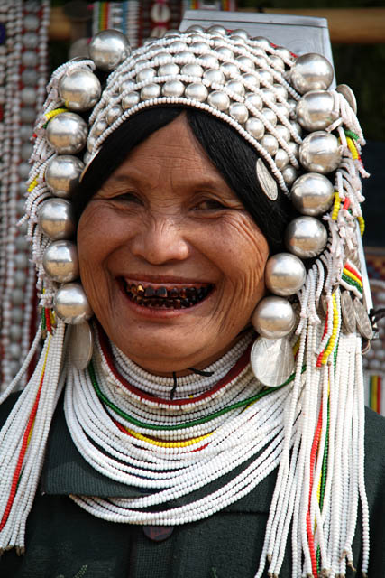 Akha woman, area around Kengtung town. Myanmar (Burma).