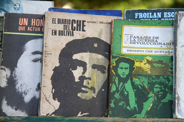 Book selling at square Plaza de Armas, Havana Vieja. Cuba.