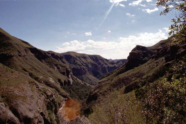 Royal Natal National park, Drakensberg. South Africa.