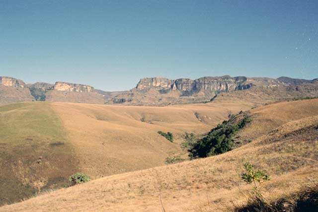 Giant's Castle National park, Drakensberg. South Africa.