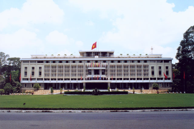 Palace of goverment od south vietnam. Saigon. Vietnam.