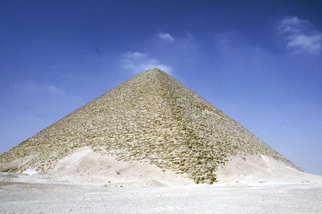 Red Pyramid in Dashur. Egypt.