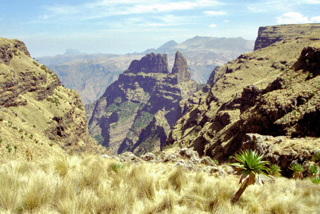 Simien mountains. North,  Ethiopia.