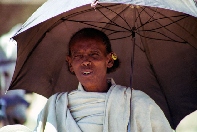 Woman at Aksum. North,  Ethiopia.