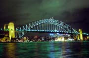 Harbour bridge at night. Sydney. Australia.