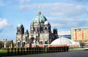 View to Berliner Dom (Berlin Cathedral). Berlin. Germany.