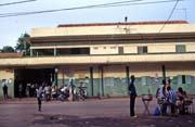 Train station at Kayes town. Mali.