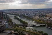 View from Eiffel Tower, Paris. France.