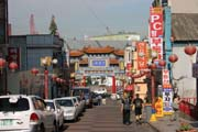 Chinese town at Incheon. South Korea.