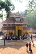 Sree Maheswara Temple at Koorkancheri in the Thrissur town at Kerala. India.