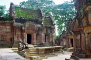 Banteay Srei temple. Angkor Wat area. Cambodia.